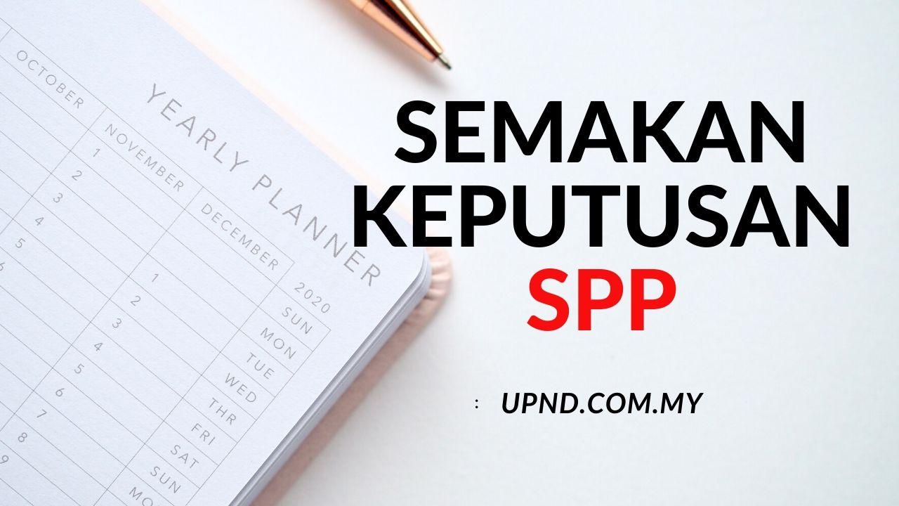 semakan spp